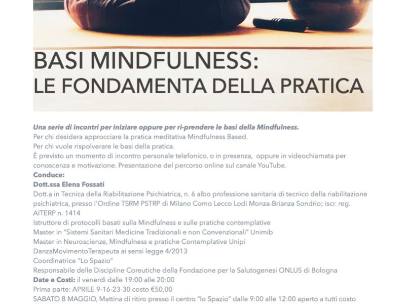 OlisticMap - Basi Mindfulness