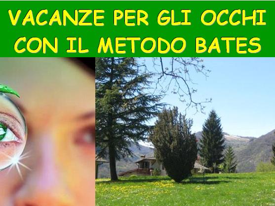 OlisticMap - VACANZE PER GLI OCCHI CON IL METODO DI BATES