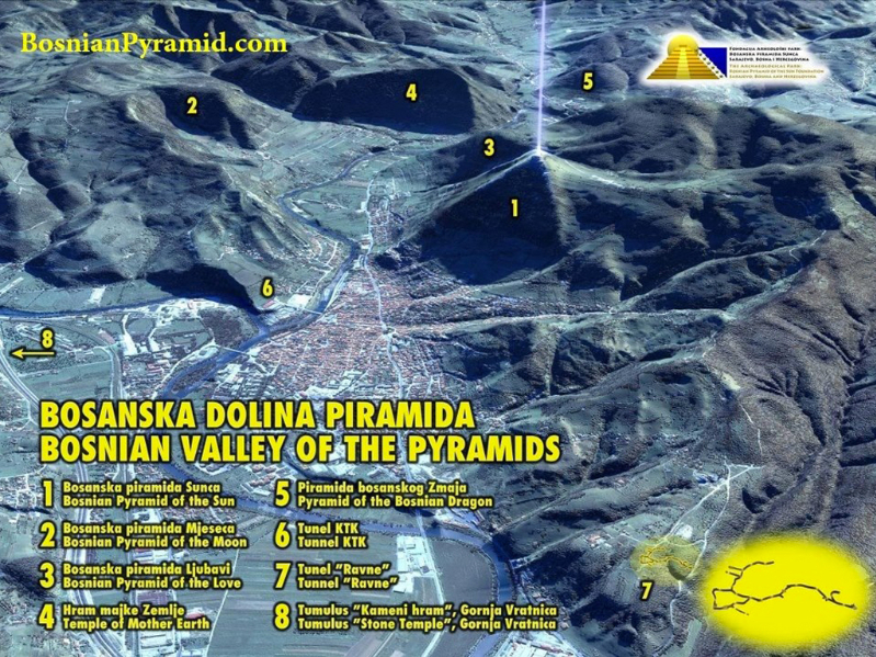 Olisticmap - TOUR ALLE PIRAMIDI BOSNIACHE - Agosto 2020