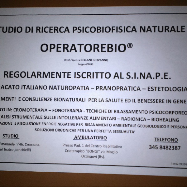 OlisticMap - OperatoreBio