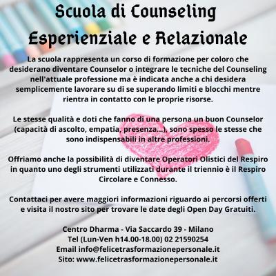 OlisticMap - Scuola di Counseling Esperienziale e Relazionale